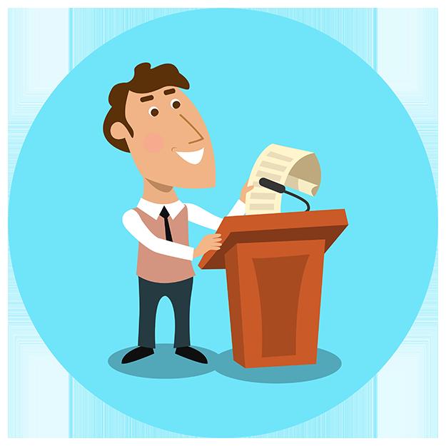 Dos claves para que tus presentaciones en público sean eficaces